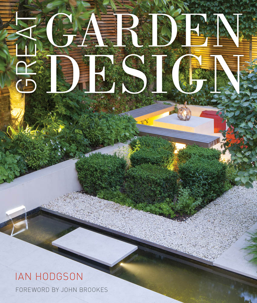Great garden design by ian hodgson for Best garden layout